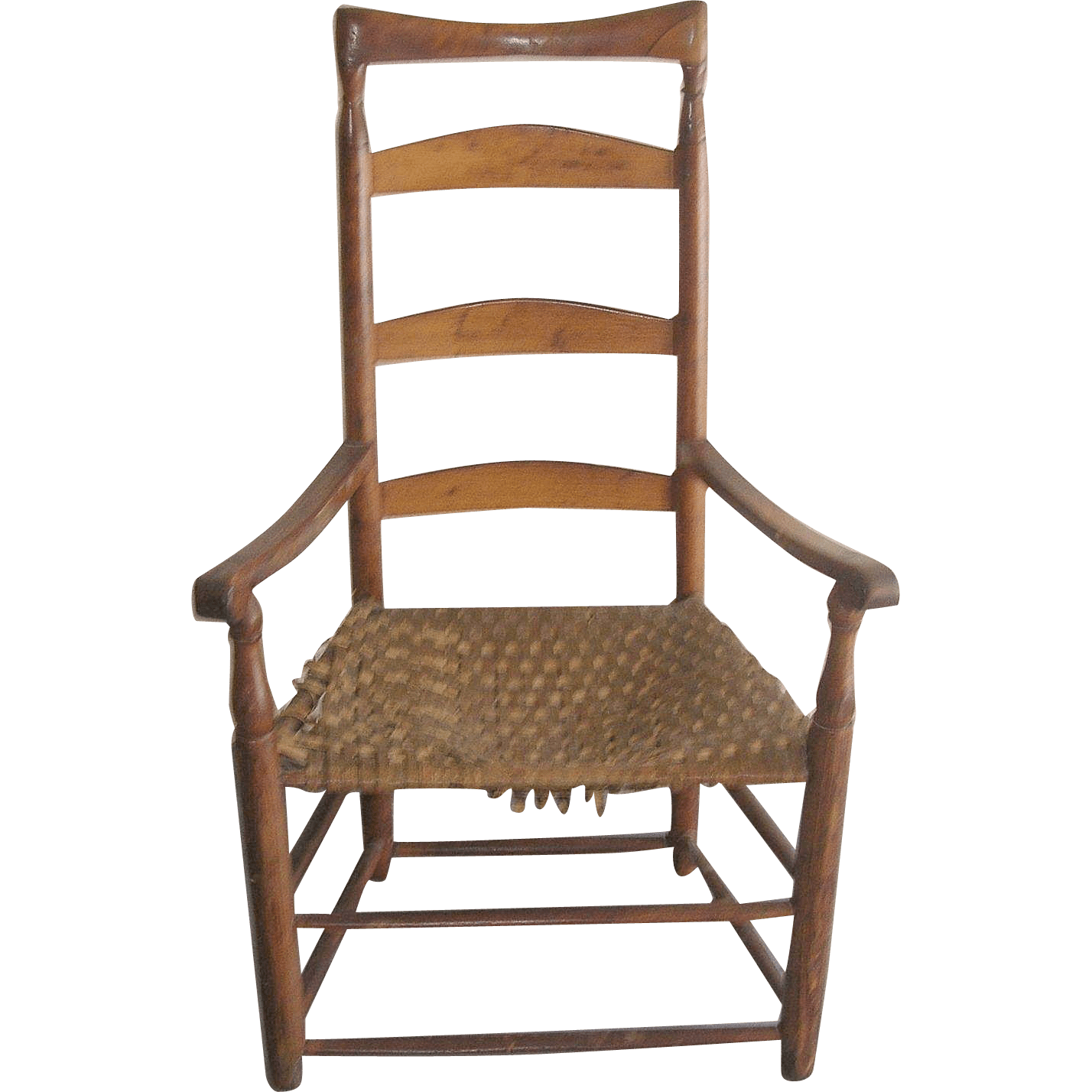 Antique Ladder Back Chair 1790s from robbiaantique on