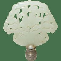 Vintage Jade Lamp Finial SOLD on Ruby Lane