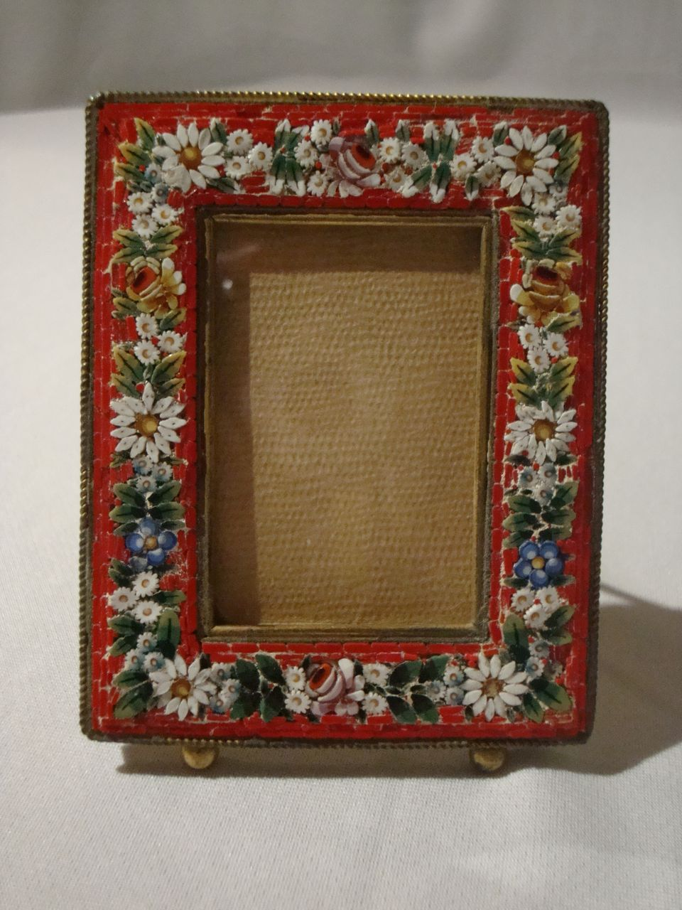 Vintage Mosaic Picture Frame