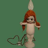 Kewpie Chalkware Lamp CIRCA 1920 from auntiesattic on Ruby ...