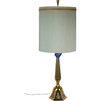 Mid-Century Modern Rembrandt Brass Table Lamp Original ...