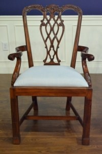 Set of 8, 10, 12, 16 Chippendale M Style Fine Dining Chair ...