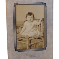 Laughlin Baby in Victorian Chair Photo from