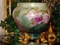 Limoges Large Jardiniere/Planter/Vase with Huge from ...