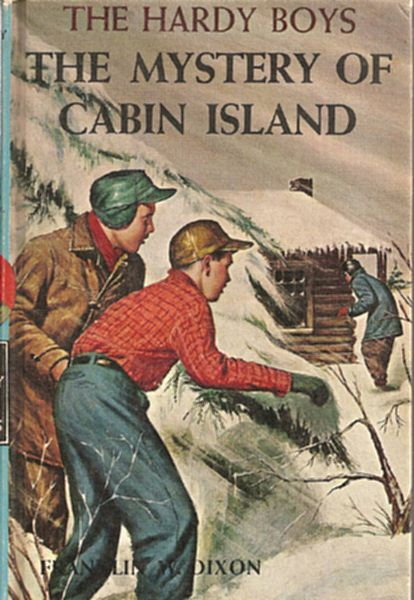 The Mystery Of Cabin Island The Hardy Boys Book
