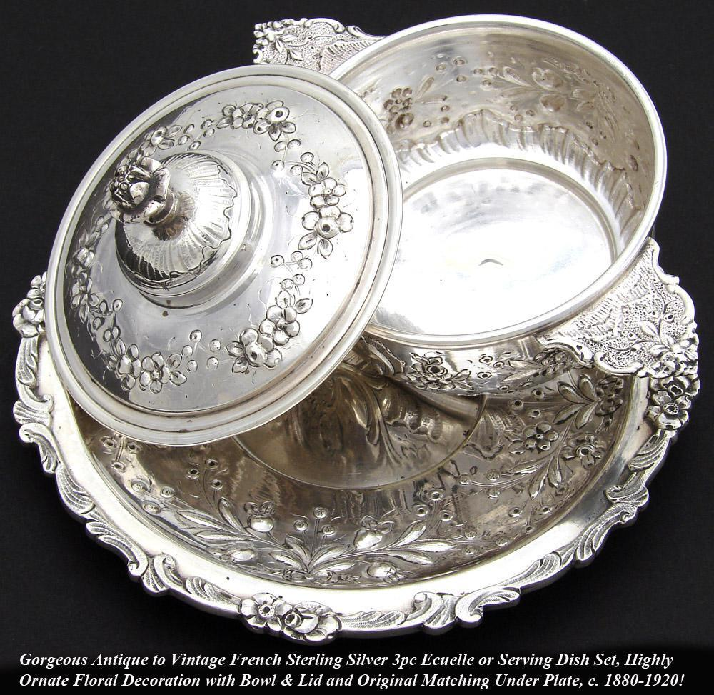 Antique French Sterling Silver