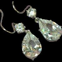 Bella Luce Sterling Silver Cubic Zirconia Drop Earrings ...