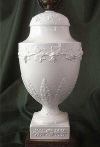 Wedgwood Queensware Urn-Form Lamp SOLD on Ruby Lane