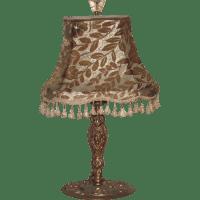 Art Nouveau Table Lamp Nouveau Lady with Original Cut ...
