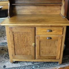 Used Kitchen Cabinets Indiana Cabinet Countertop Antique Boone Oak 2 Piece From