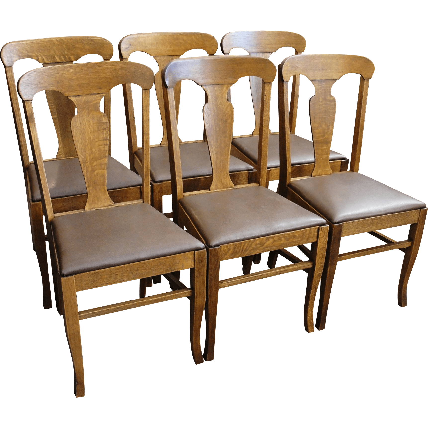 oak dining set 6 chairs graco rittenhouse high chair of antique sold on ruby lane
