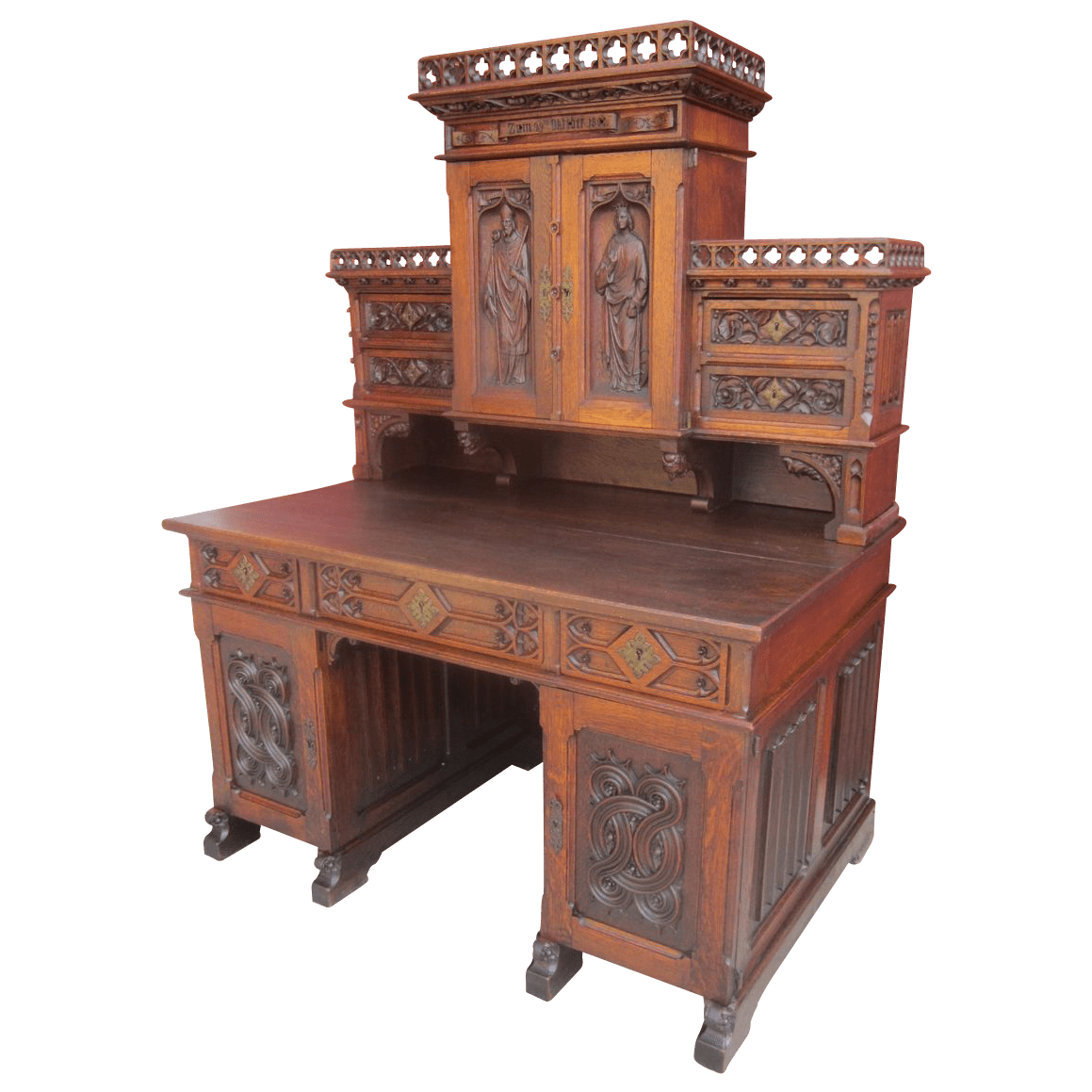 item xjd french antique gothic desk antique furniture