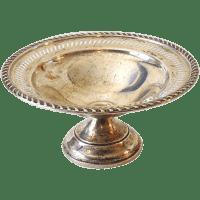 Vintage Crosby Pedestal Sterling Silver Candy Dish Nut ...