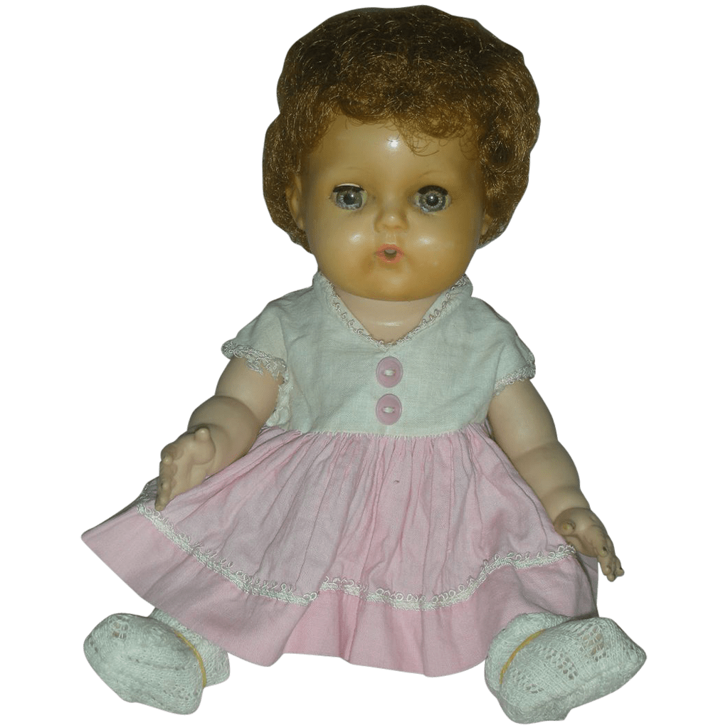 Vintage Tiny Tears Drink And Wet Doll By American
