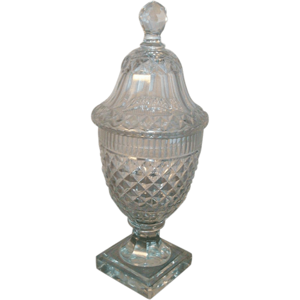 Antique 18th century Georgian Anglo Irish Cut Lead Crystal