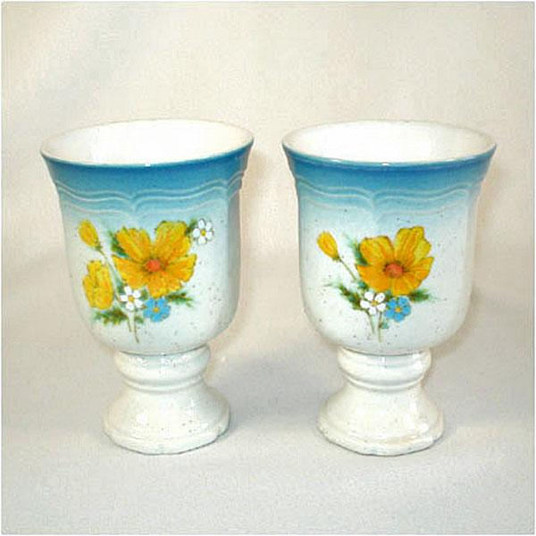 2 Mikasa Amy Wine Goblets From Coppertonlane On Ruby Lane
