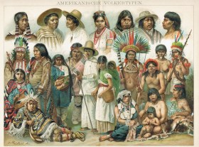 Indians lithograph