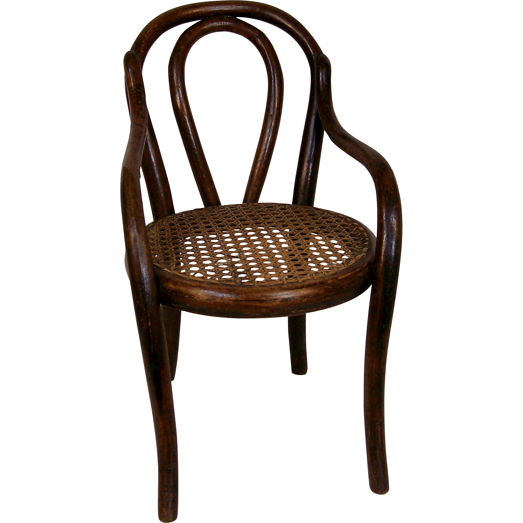 vintage bentwood chairs dining antique thonet style doll 39s chair from deesdolls