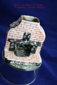 Rare Old Made in Japan Figural Fireplace Incense Burner ...