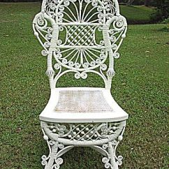 Antique Wicker Chairs Swing Chair For Newborn Rare And Ornate Victorian Reception Heywood : Dovetail Antiques ...