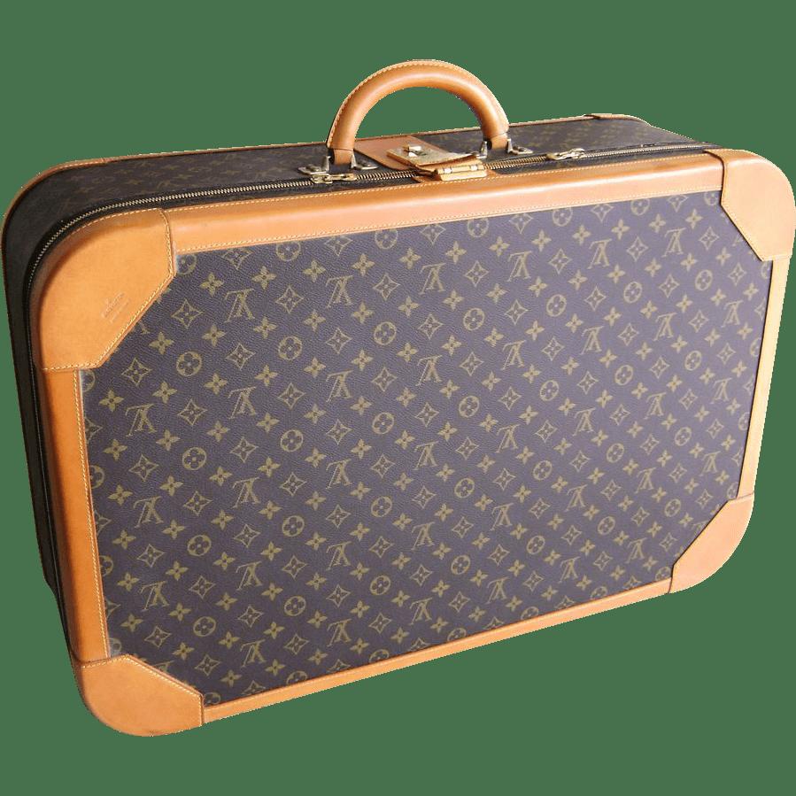 monogram luggage set