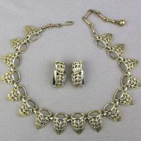 Vintage CORO Necklace Earrings Set Art Deco from ...