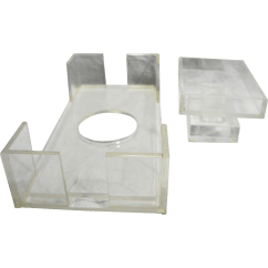Transparent Polycarbonate Chairs Diy Classroom Chair Covers Clear Lucite Acrylic Plastic Tissue Box Holder Soap Dish