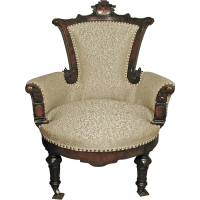 Antique Eastlake Chair from jelitaarts on Ruby Lane