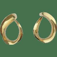 Michael Good - 18k - Vintage Aalto Earrings from jjtucson ...