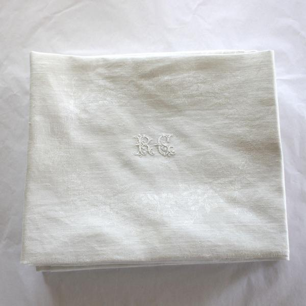 Antique French Linen Monogrammed Napkins R C Set of 10 ...