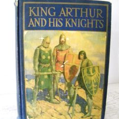Kitchen Cart Table Metal Studs For Outdoor King Arthur And His Knights 1929 Wonderful Color Book ...