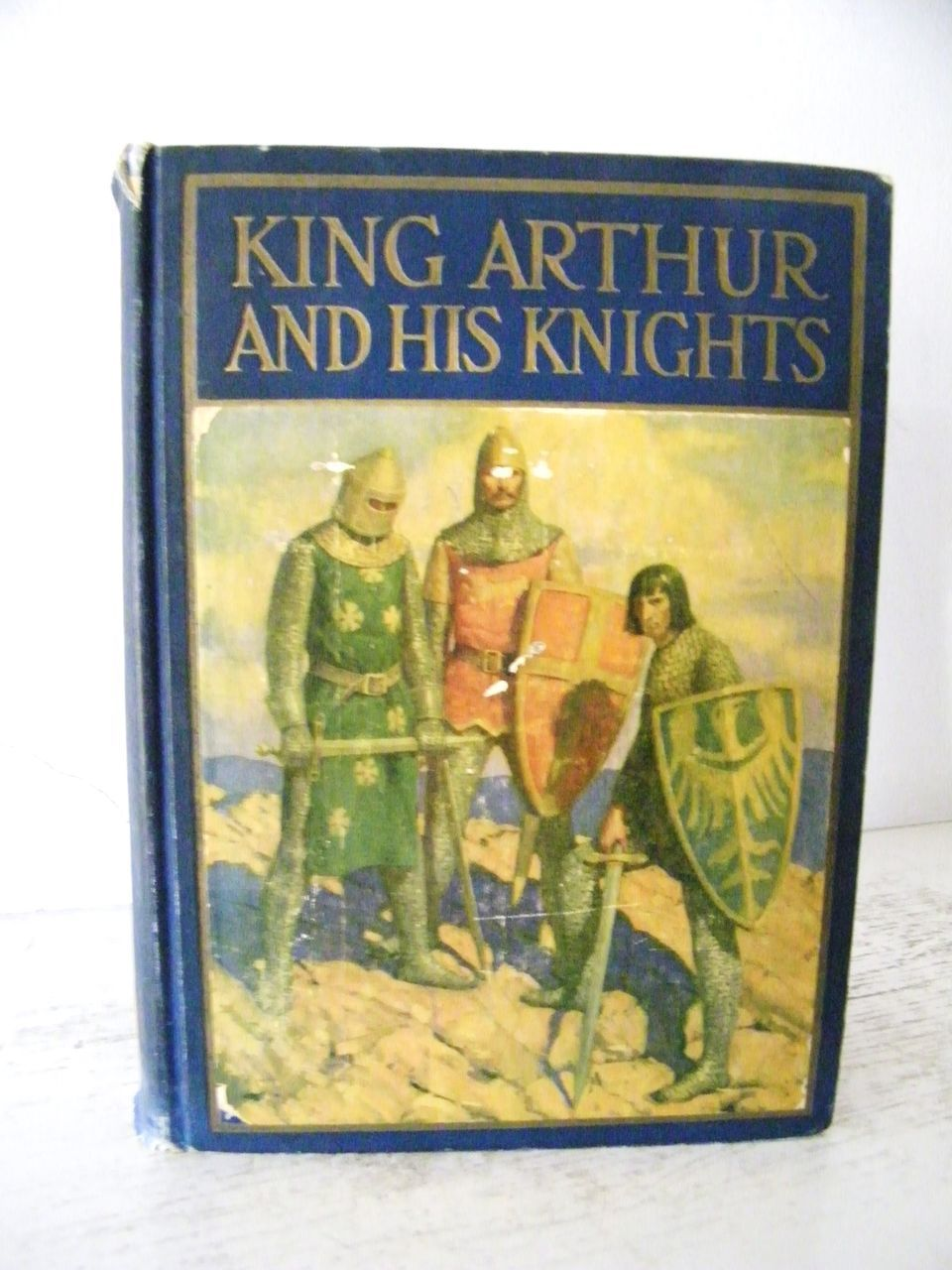 kitchen cart table hanging lights over island king arthur and his knights 1929 wonderful color book ...