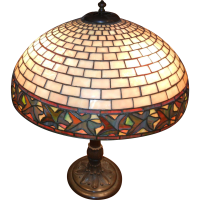 Duffner & Kimberly Table Lamp from legendsantiquesclocks ...