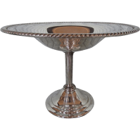 Silver Candy Compote Pedestal Dish Vintage SOLD on Ruby Lane
