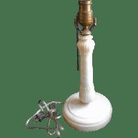 Art Deco Lamp Vintage Alabaster Marble Simple Acanthus TLC ...