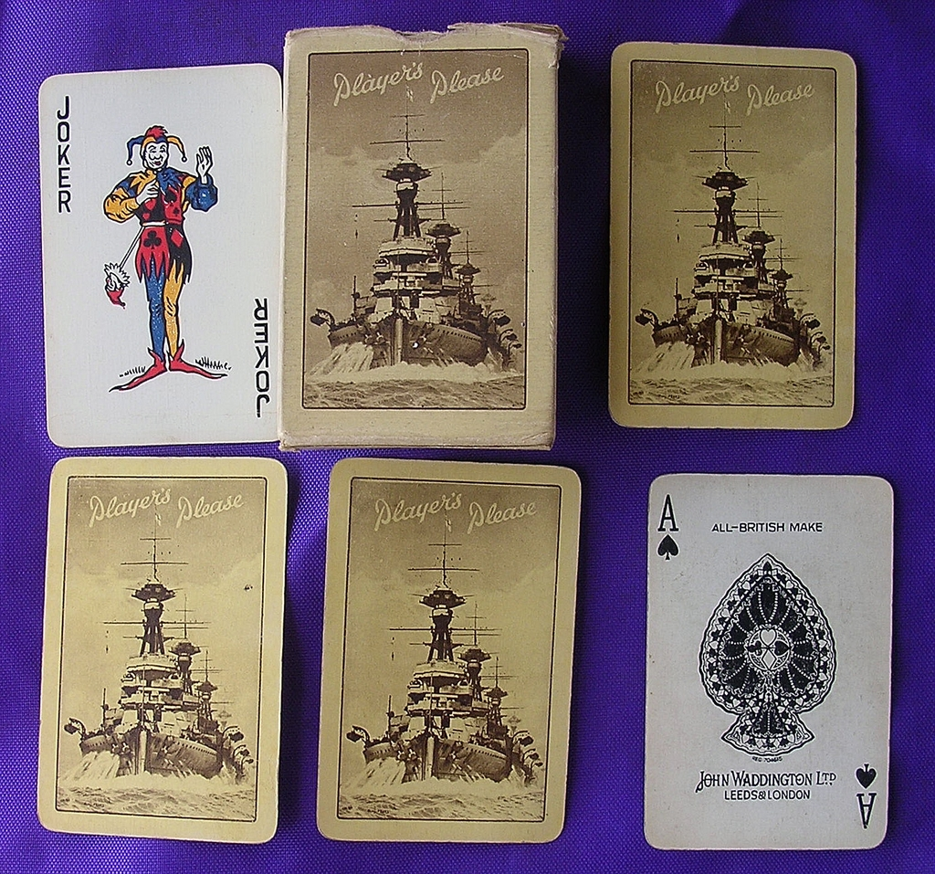 Vintage Cigarette Advertising Playing Cards PLAYERS
