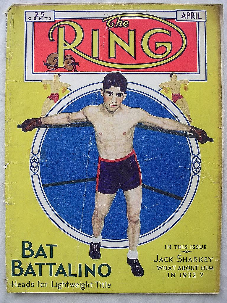 RARE Vintage The RING Magazine VOL X1 April 1932 From