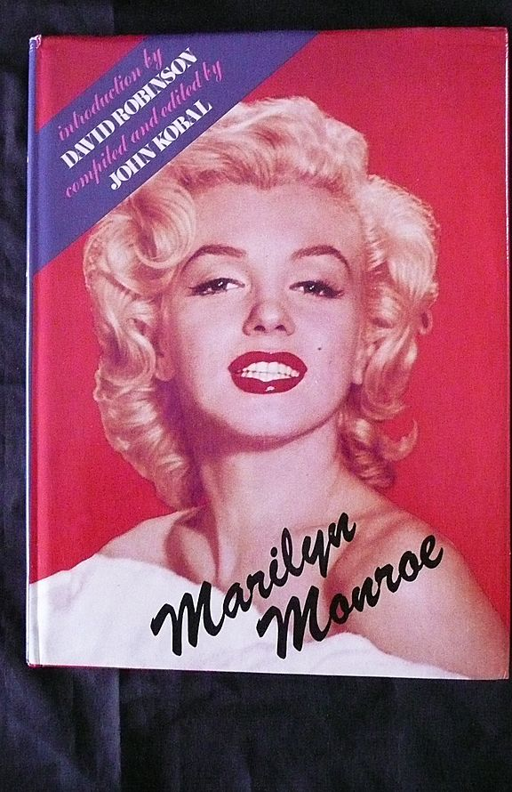 Marilyn MUNROE By John Kobal First Edition 1974 From