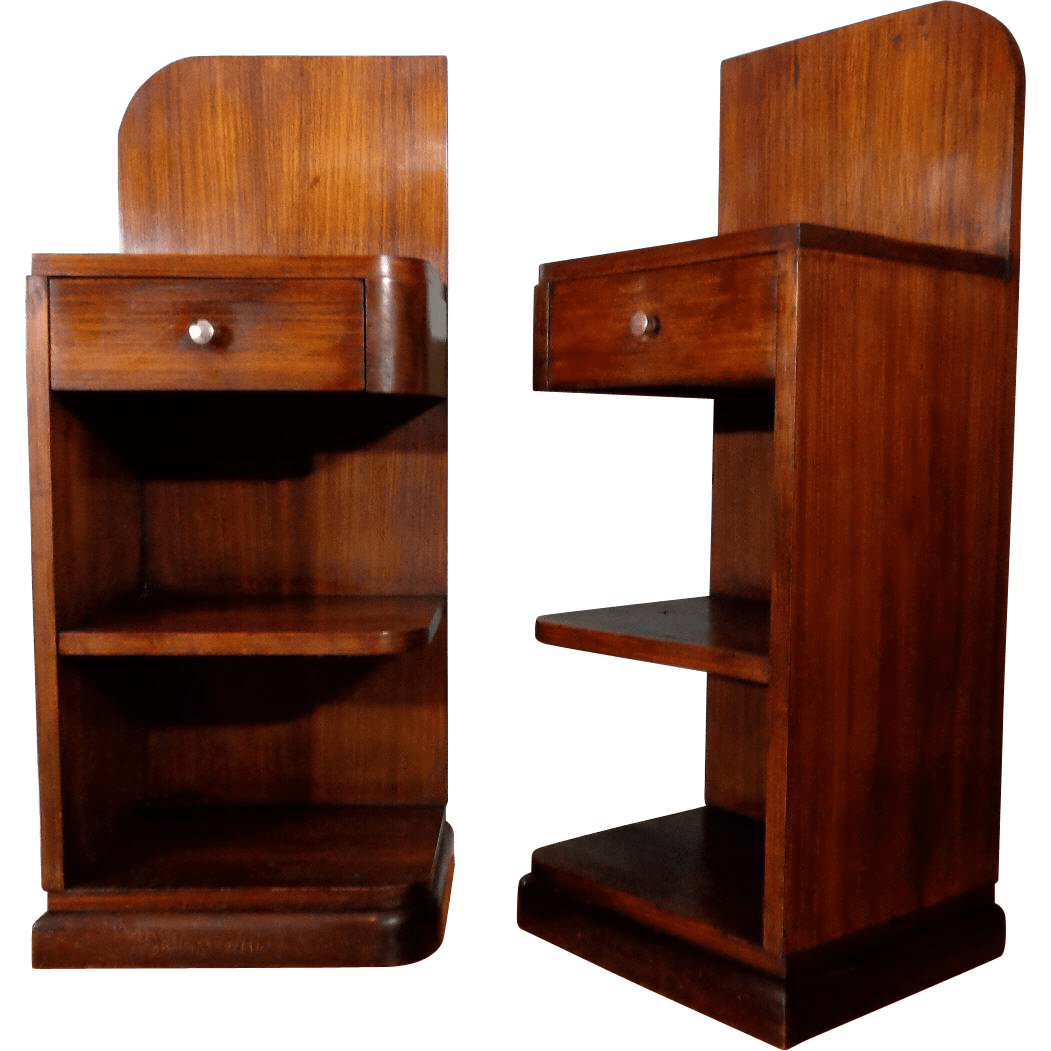 1930s Art Deco Waterfall Furniture