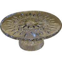 """Waterford Crystal """"Lismore"""" Cake Plate SOLD on Ruby Lane"""