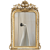 A 19th c. Louis Philippe Style Gilded Mirror from ofleury