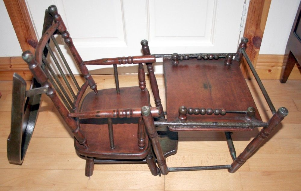 high chair converts to table and king sale victorian rare unique dolls multi purpose into : partner antiques | ruby ...