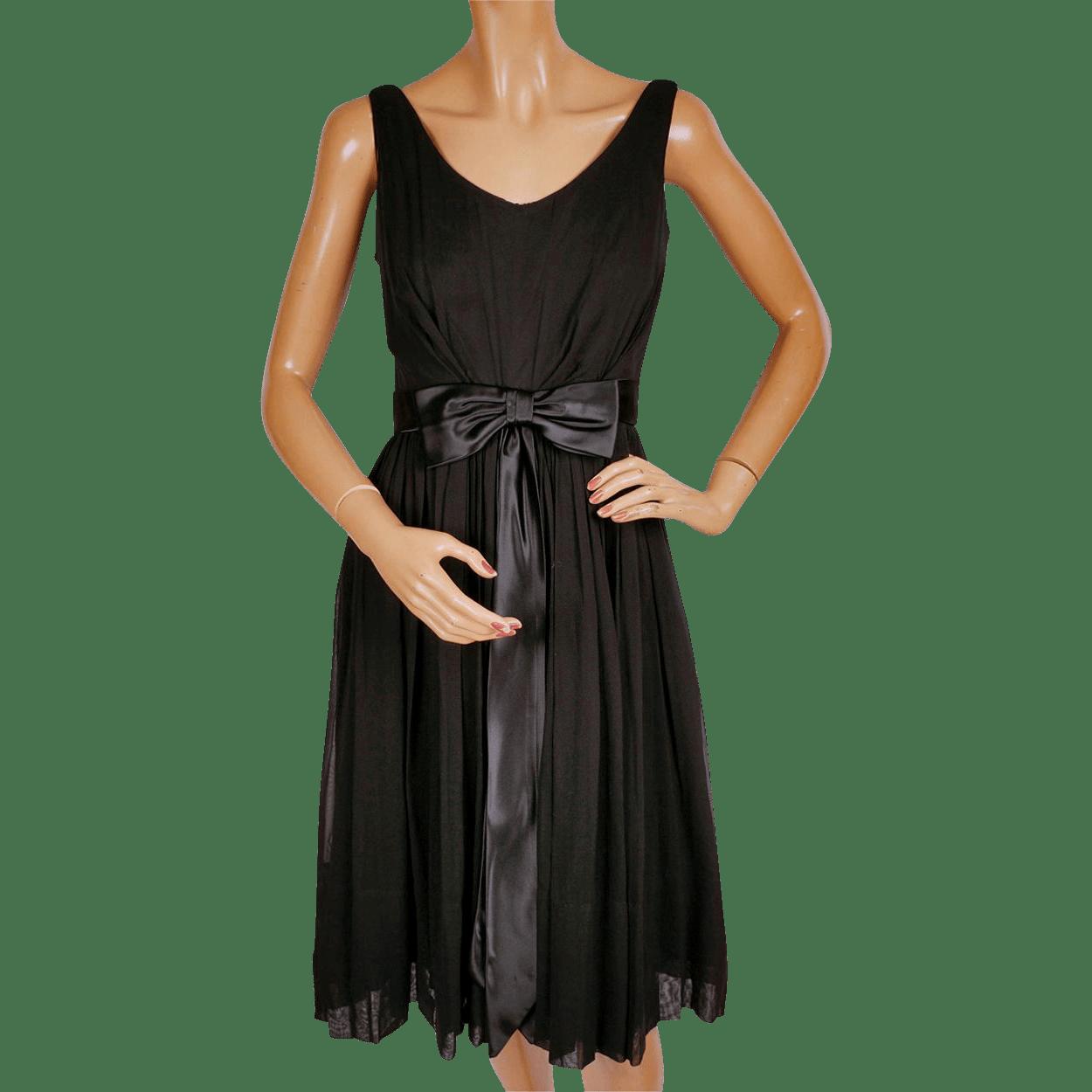 Vintage 1960s Cocktail Party Dress