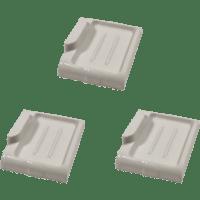 Three Matching Antique Wall-Mount Porcelain Bar Soap ...