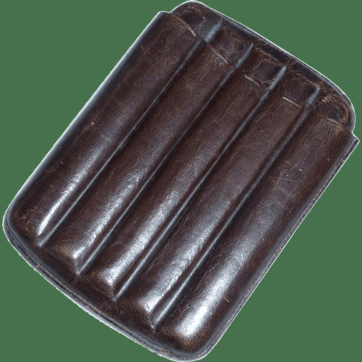 Leather Cigar Holder for Pocket or Sport Coat from
