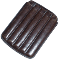 Leather Cigar Holder for Pocket or Sport Coat from