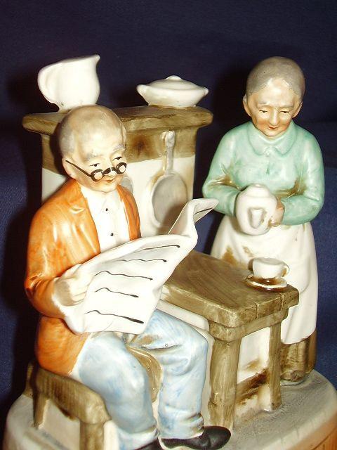 Grandma Reading Newspaper