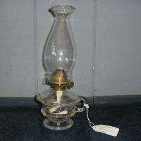 Pressed Footed Kerosene Oil Hand Lamp / Finger Lamp from ...