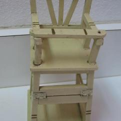 Krueger Folding Chairs Metal Chair Covers Wedding Antique German Marklin Wood High From
