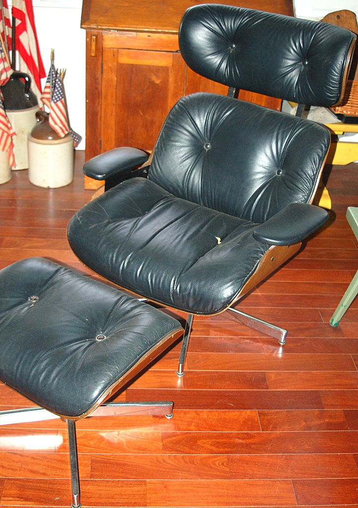 Selig Chair And Ottoman